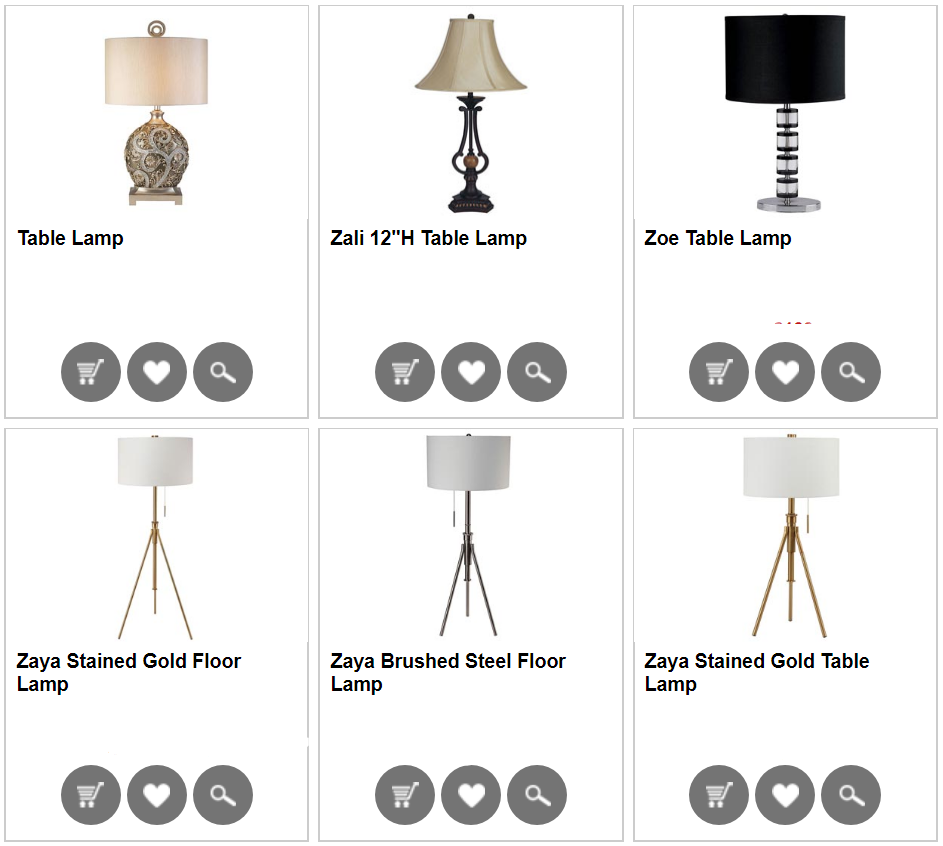 Home Furnishings Lighting - Olympia West Jordan