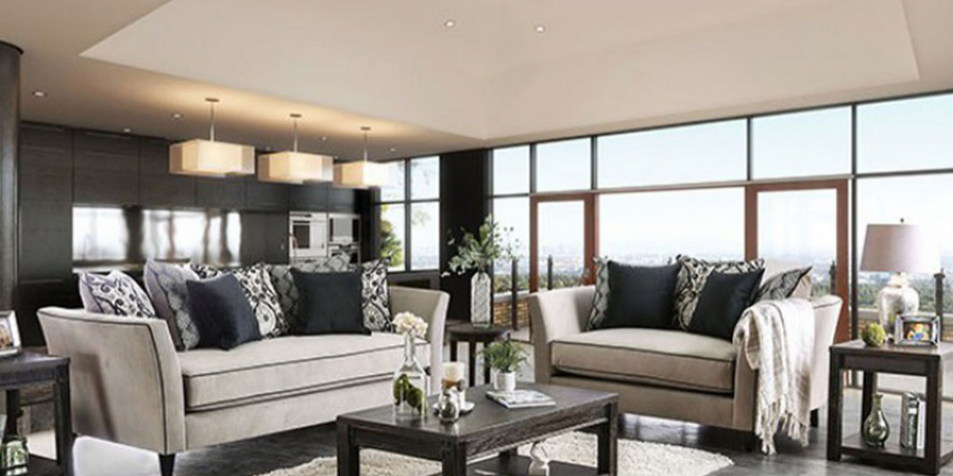 Modern Couch - Olympia Furniture - South Jordan